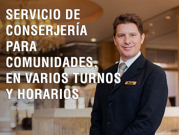 Servicios de conserjes y porteros para comunidades en Madrid