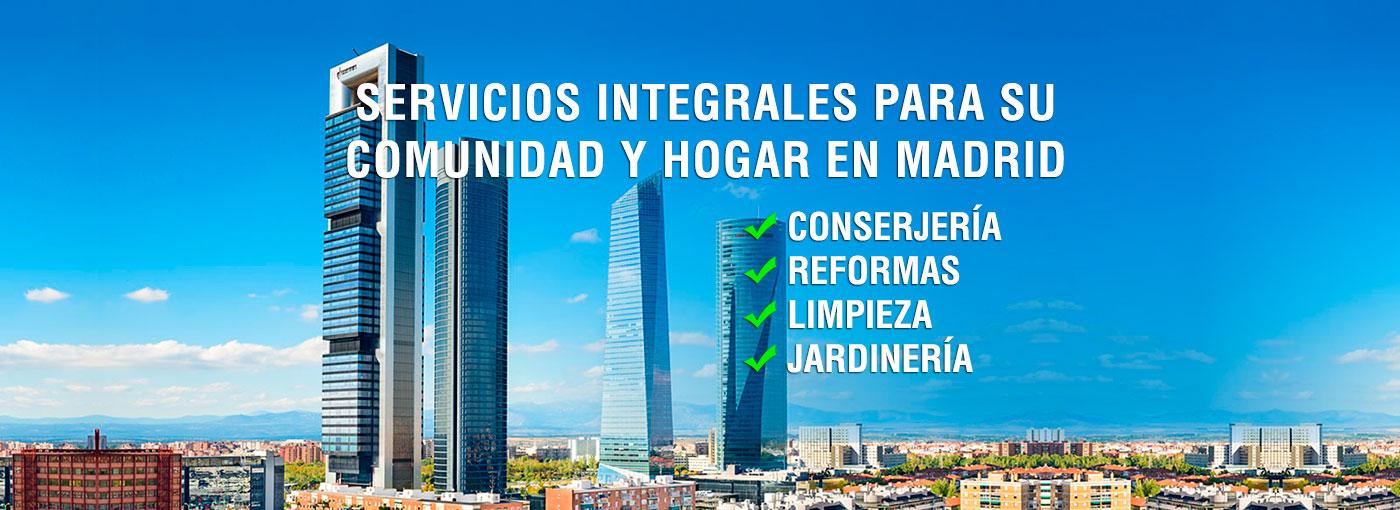 Servicios para su comunidad y hogar en Madrid