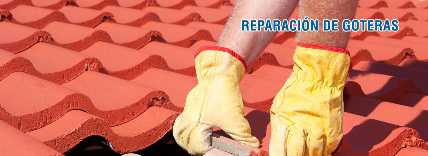 Reparación de goteras en Madrid