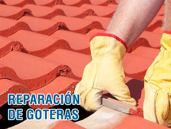 Reparación goteras Madrid