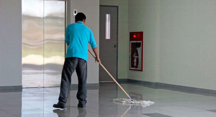 Conserje limpiador en Madrid