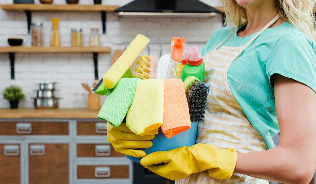 Qué productos usar para limpiar la casa
