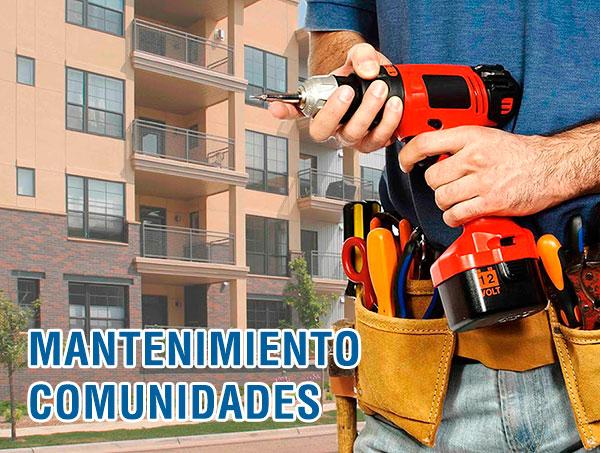 Mantenimiento de comunidades de vecinos en Madrid