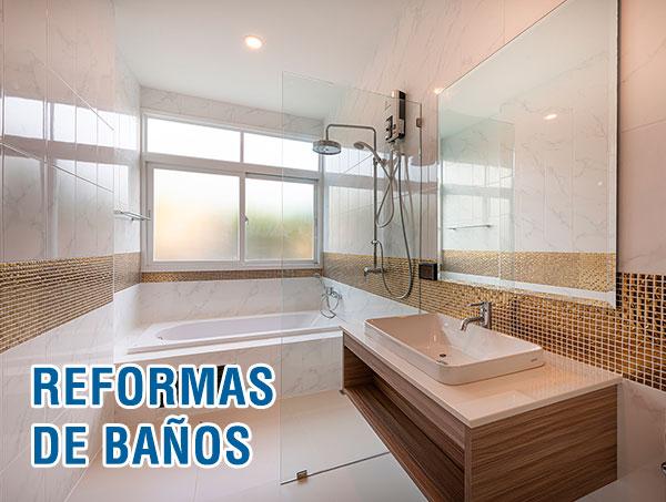 Reformas de baños en Madrid