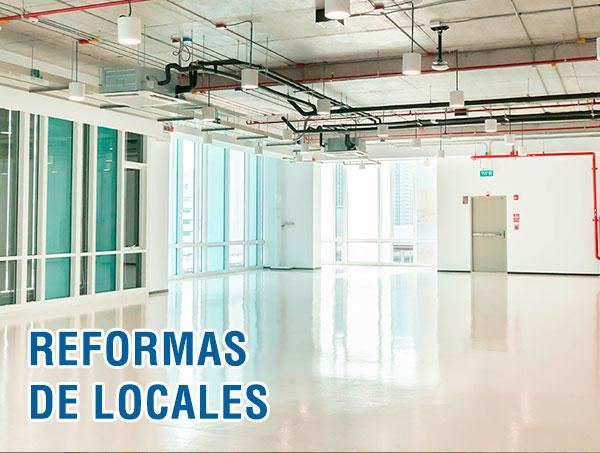 Reformas de oficinas y locales en Madrid